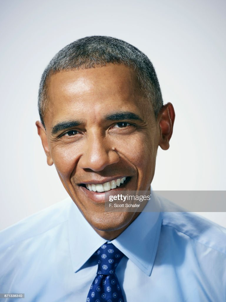 President Barack Obama is photographed for Popular Science on January 4, 2016 in Washington, DC.
