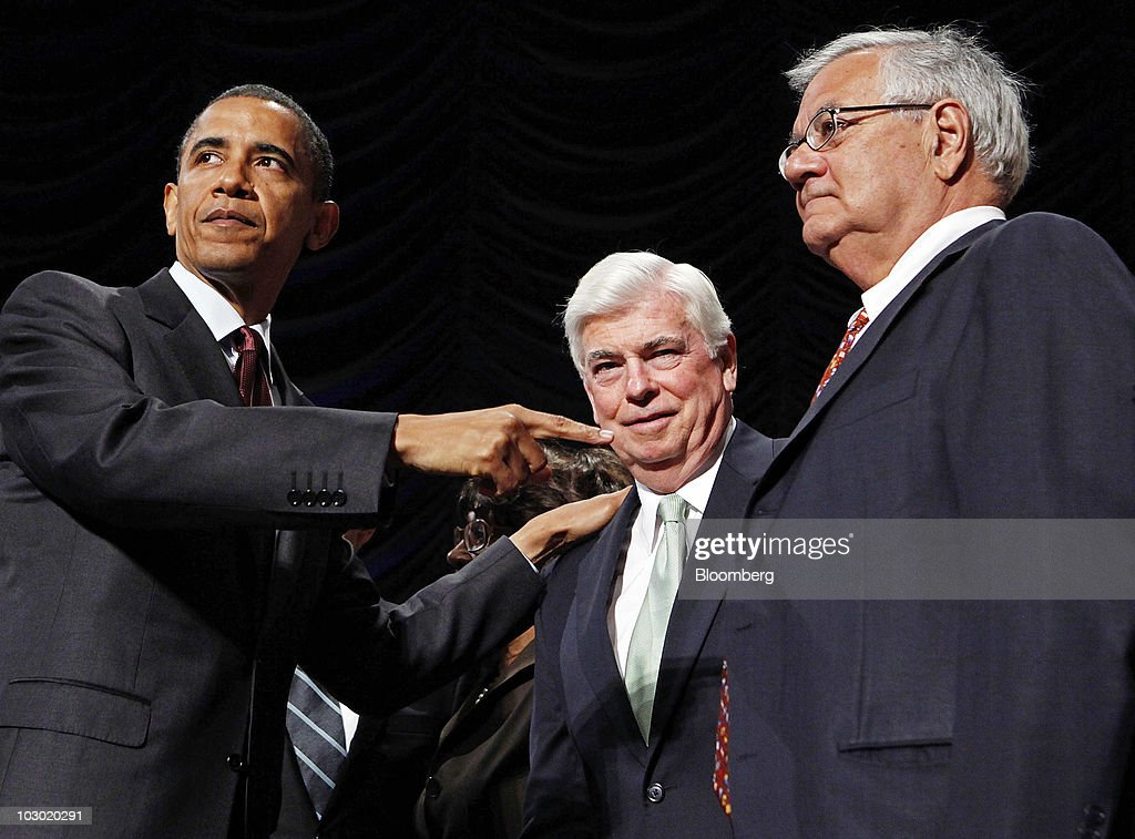 President Obama Signs Finance Reform Bill Into Law