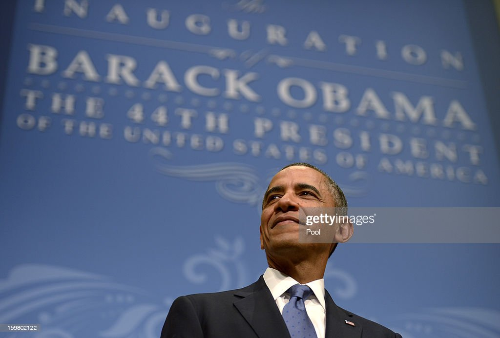 U.S. Presidential Inaugural Reception : News Photo