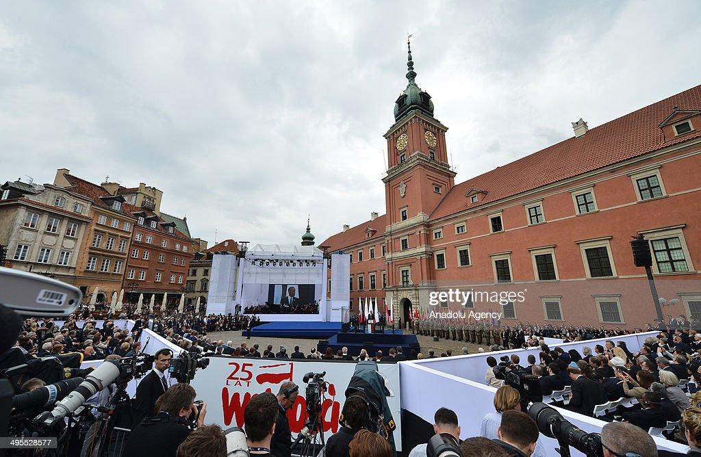 Celebration of Polish Freedom Day : News Photo