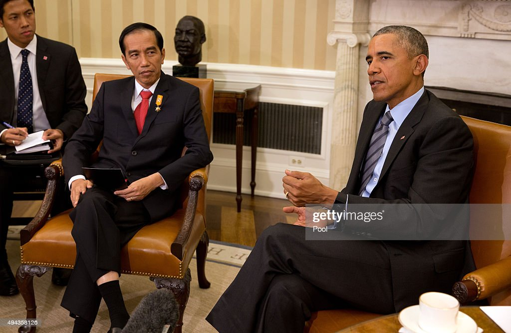 Obama Meets With President Joko Widodo of Indonesia