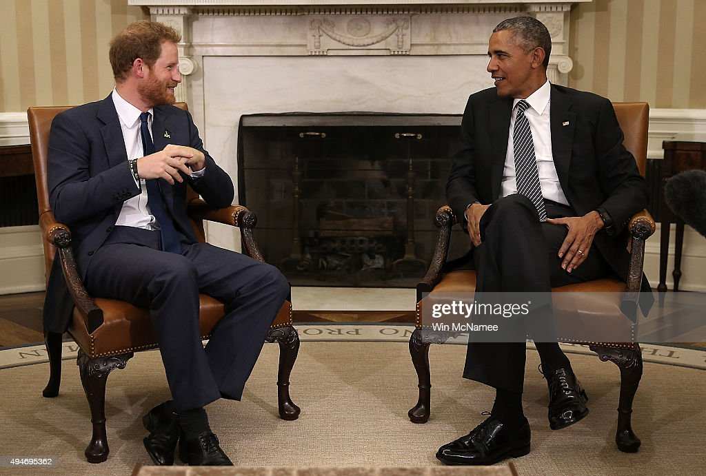 President Obama Welcomes UK's Prince Harry To White House