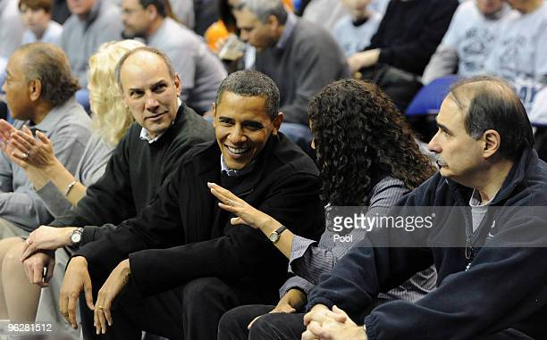 US President Barack Obama Phil Schiliro Assistant to the President for Legislative Affairs Mona Sutphen White House Deputy Chief of Staff for Policy...