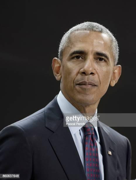 President Barack Obama photographed on September 20 at the Bill Melinda Gates Goalkeepers Forum in New York City