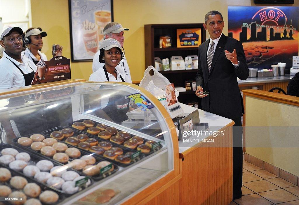 US-VOTE-2012-DEMOCRATIC CAMPAIGN-OBAMA : News Photo