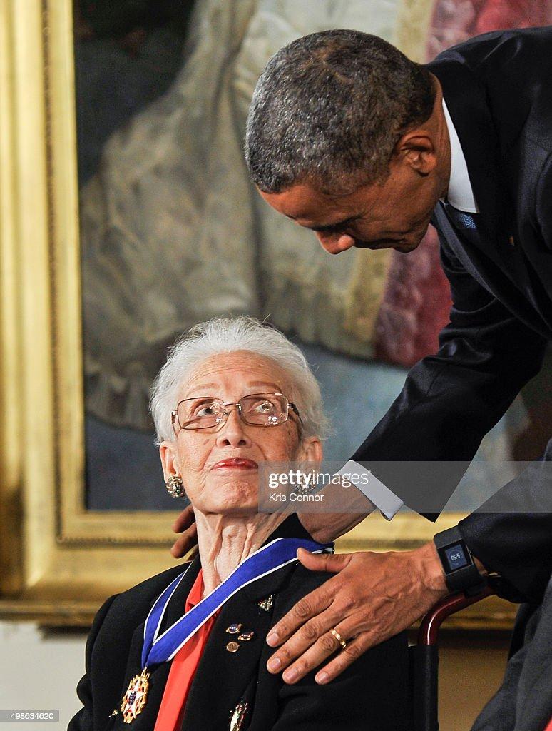 2015 Presidential Medal Of Freedom Ceremony : News Photo