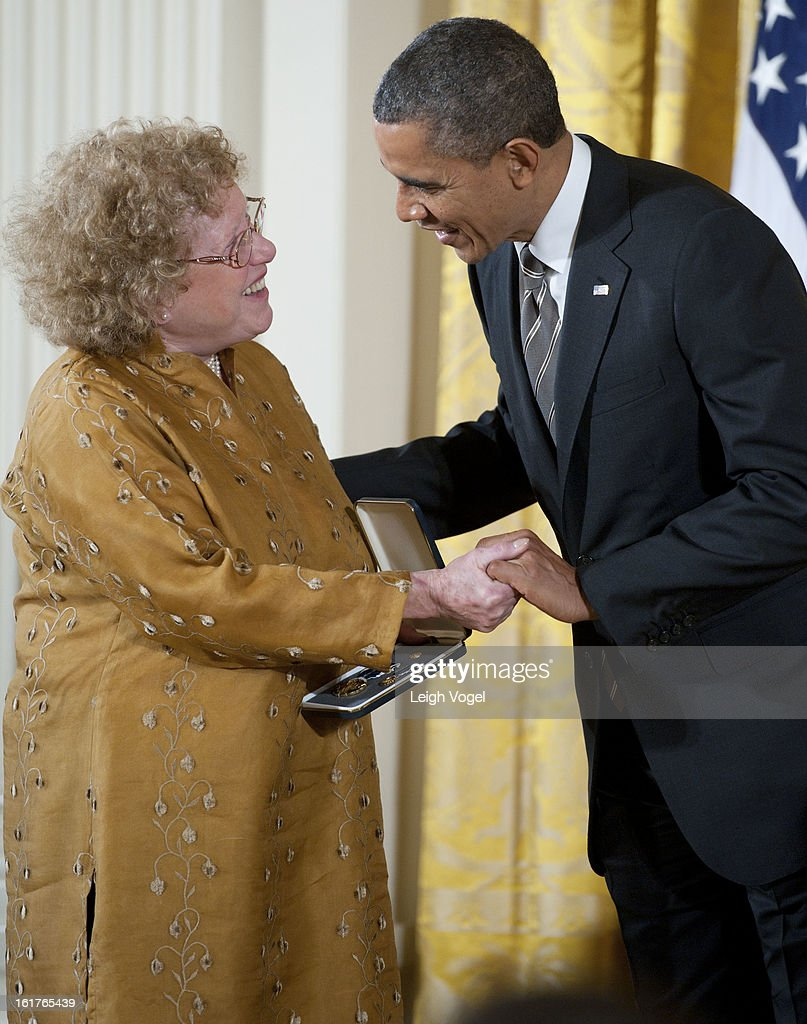 President Barack Obama Welcomes The 2012 Presidential Citizens Medal Recipients : News Photo