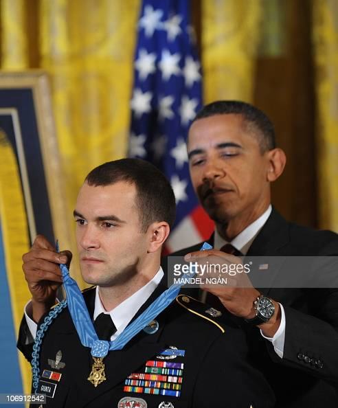 President Obama Awards Army Staff Sgt. Giunta Medal Of ...
