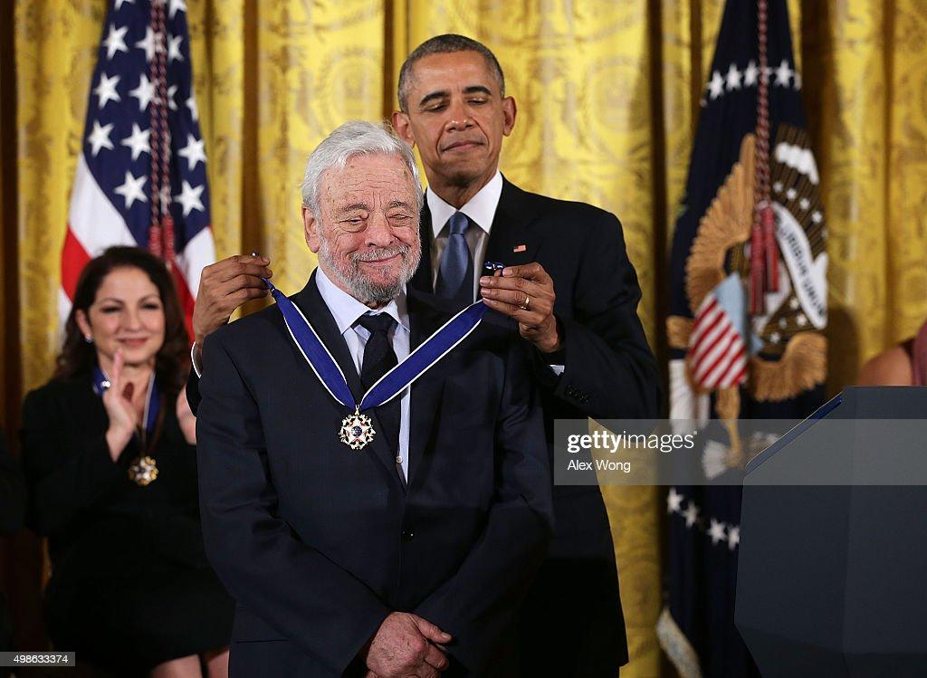 President Obama Presents The Presidential Medal Of Freedom Awards