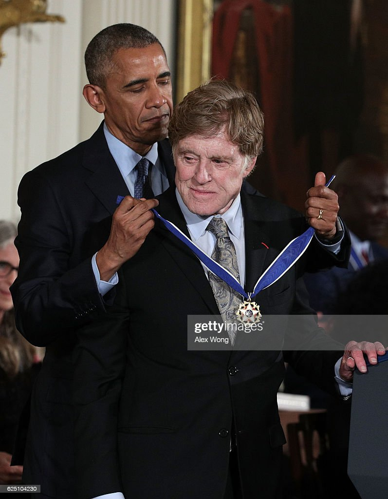 Obama Honors 21 Americans With Presidential Medal Of Freedom : News Photo