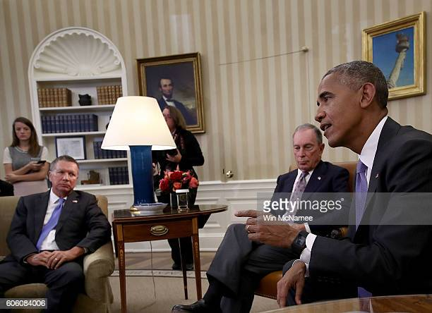 S President Barack Obama responds to a question about Republican presidential candidate Donald Trump questioning Obama's place of birth during a...