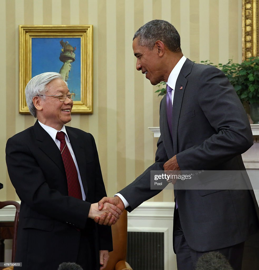 President Obama Meets With Vietnam's General Secretary Nguyen Phu Trong
