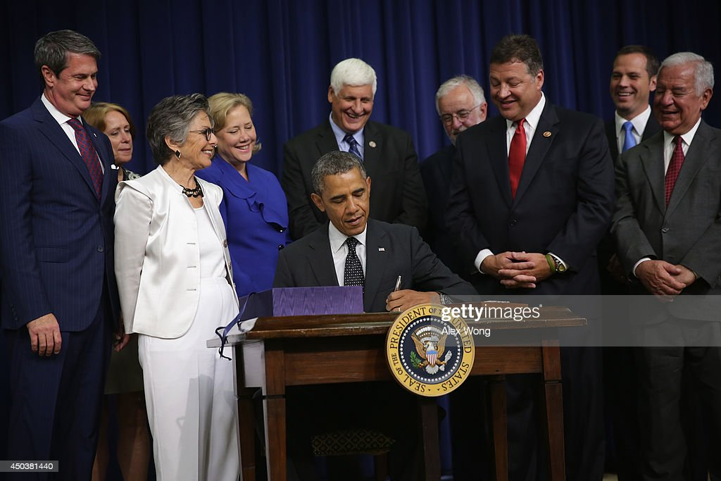 President Obama Signs Water Resources Reform, Development Act And H.R. 1726