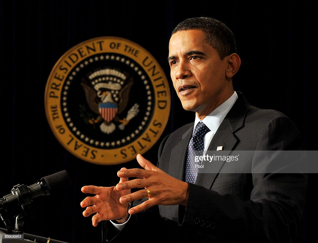 President Obama Speaks At The Fiscal Responsibility Summit : News Photo