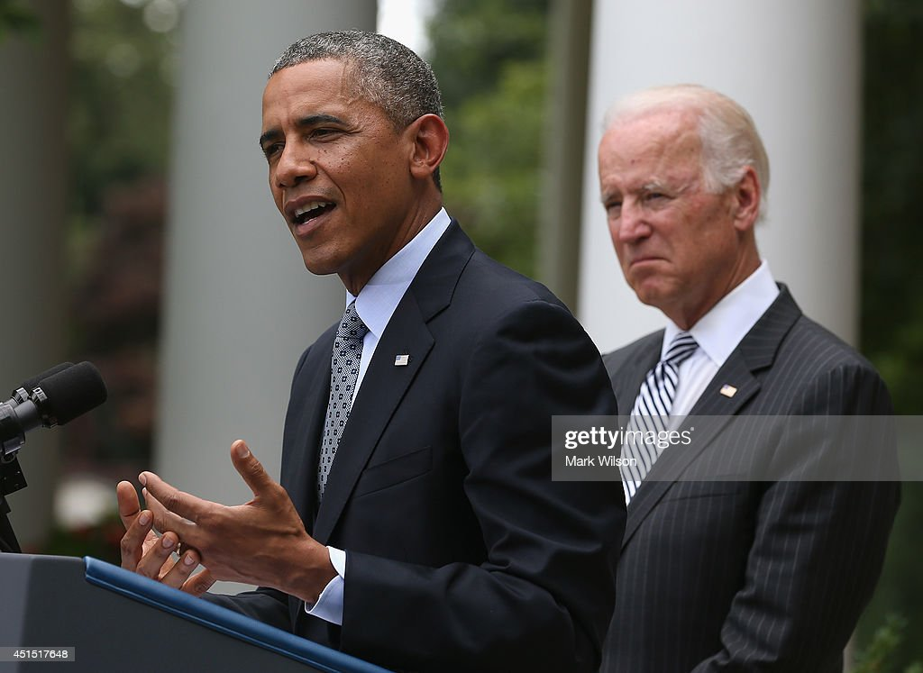 President Obama Delivers Statement On Immigration Reform In The Rose Garden : News Photo