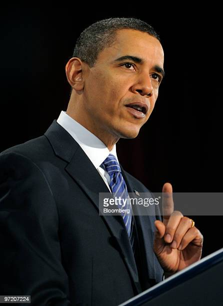 US President Barack Obama speaks an an event sponsored by America's Promise Alliance a youthadvocacy group founded by former Secretary of State Colin...