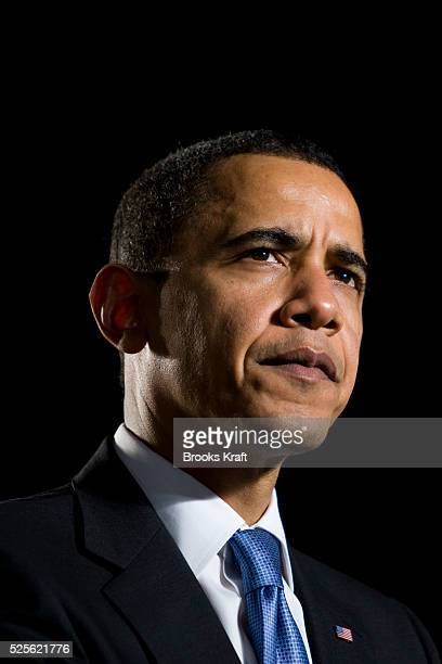 President Barack Obama speaks at a town hall meeting at the Orange County Fair and Event Center in Costa Mesa California