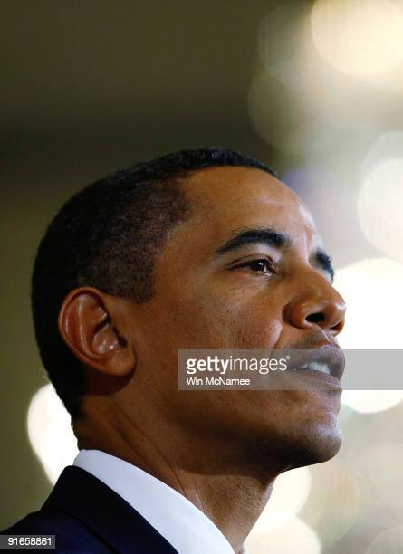 S President Barack Obama speaks at an event in the East Room of the White House in support of a new Consumer Financial Protection Agency and urging...
