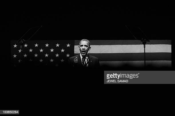 President Barack Obama speaks at Obama Victory Fund concert in Miami Florida on June 26 2012 Obama hit the campaign trail shadowed by a week of...