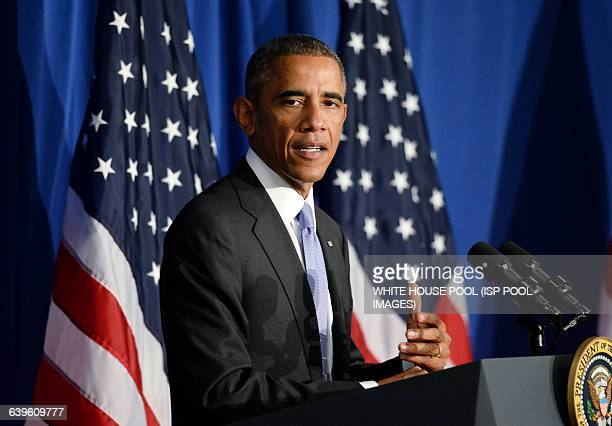 President Barack Obama speaks at the Consumer Financial Protection Bureau to highlight steps by his Administration and the private sector to improve...