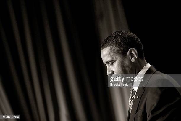 President Barack Obama speaks at the National Prayer Breakfast in Washington