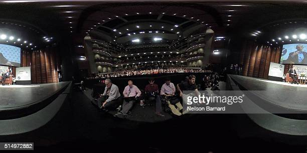 President Barack Obama speaks at the opening Keynote during the 2016 SXSW Music Film Interactive Festival at Long Center on March 11 2016 in Austin...