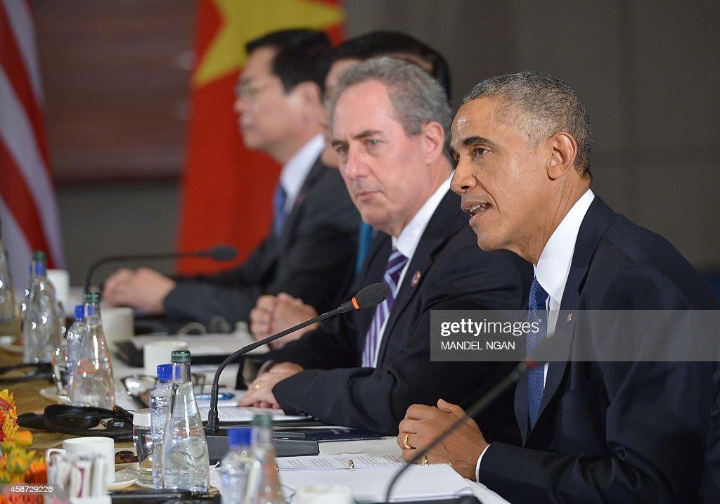 CHINA-APEC-SUMMIT-TPP : News Photo
