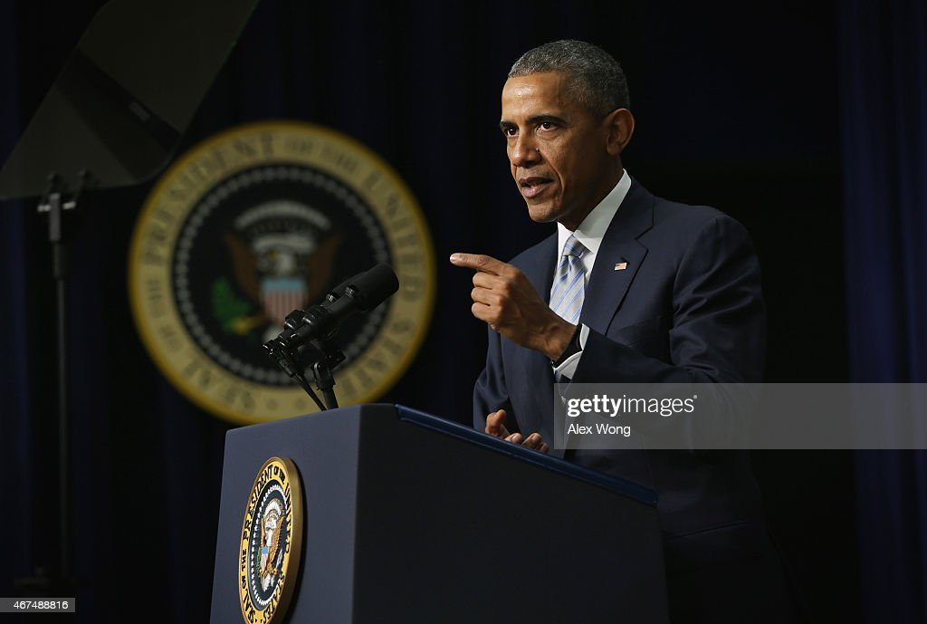 President Obama Marks 5th Anniversary Of The Affordable Health Care Act : News Photo