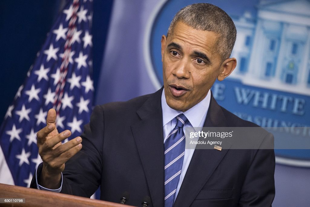 President Obama End of Year News Conference : ニュース写真
