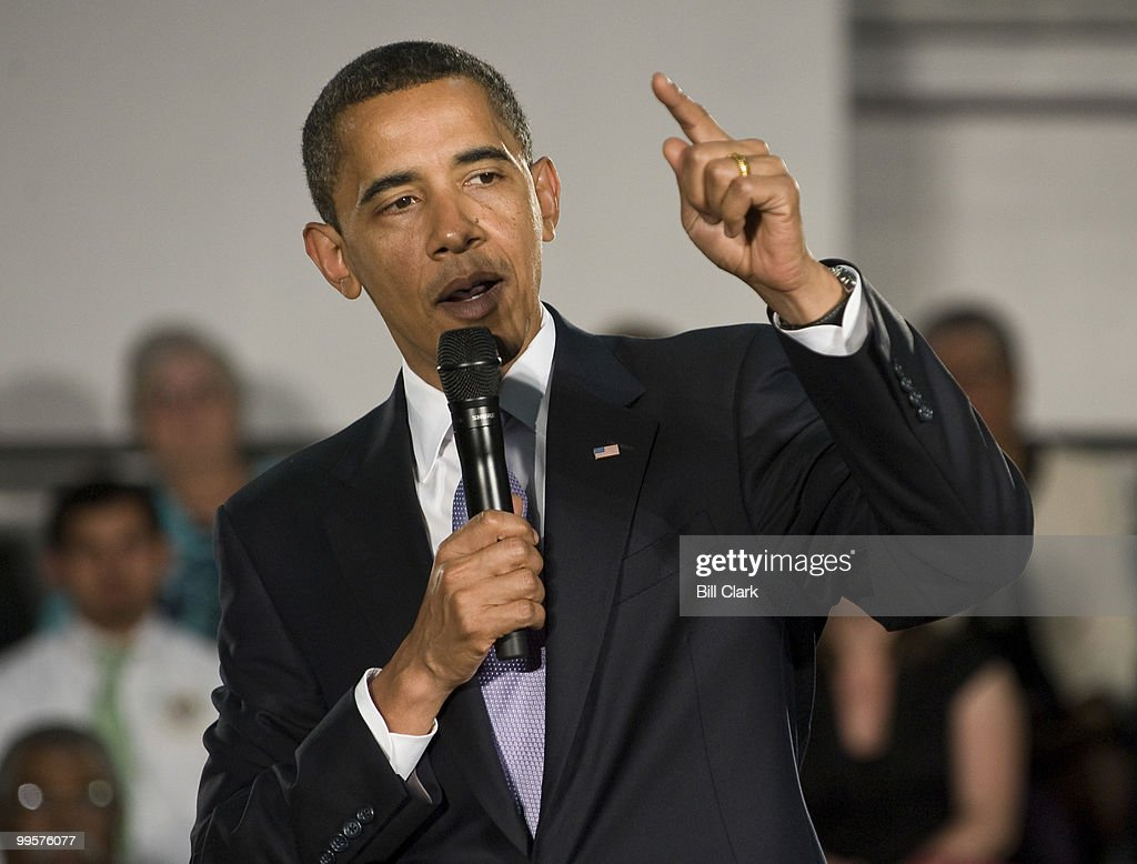 President Barack Obama speaks during his Healthcare Town Hal