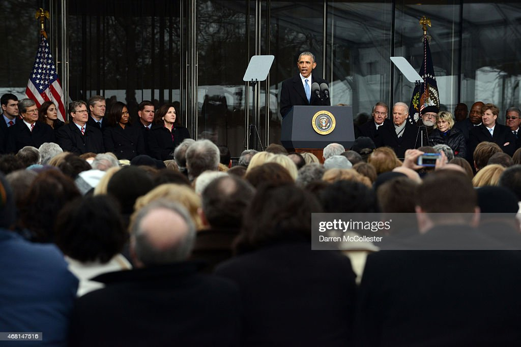 The Edward Kennedy Institute Holds Dedication Ceremony