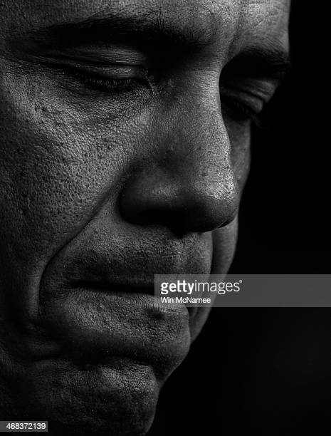 President Barack Obama speaks on the Trayvon Martin case during remarks in the White House briefing room July 19, 2013 in Washington, DC. Obama said,...