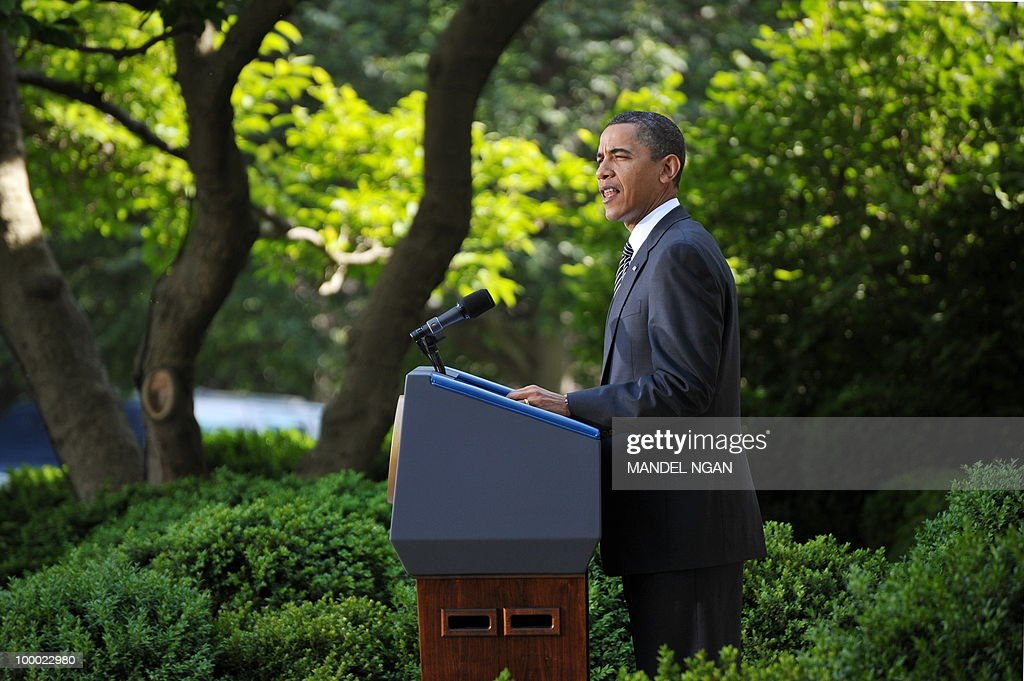 US President Barack Obama speaks on Wall Street reform May 20, 2010 in the Rose Garden of the White House in Washington, DC. The US Senate voted Thursday to end debate on the most sweeping overhaul of financial industry rules since the Great Depression of the 1930s. AFP PHOTO/Mandel NGAN