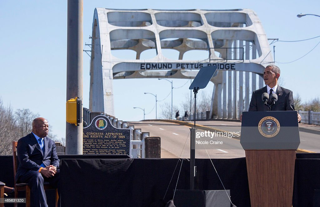 50th Anniversary Of Selma March For African American Voting Rights : News Photo