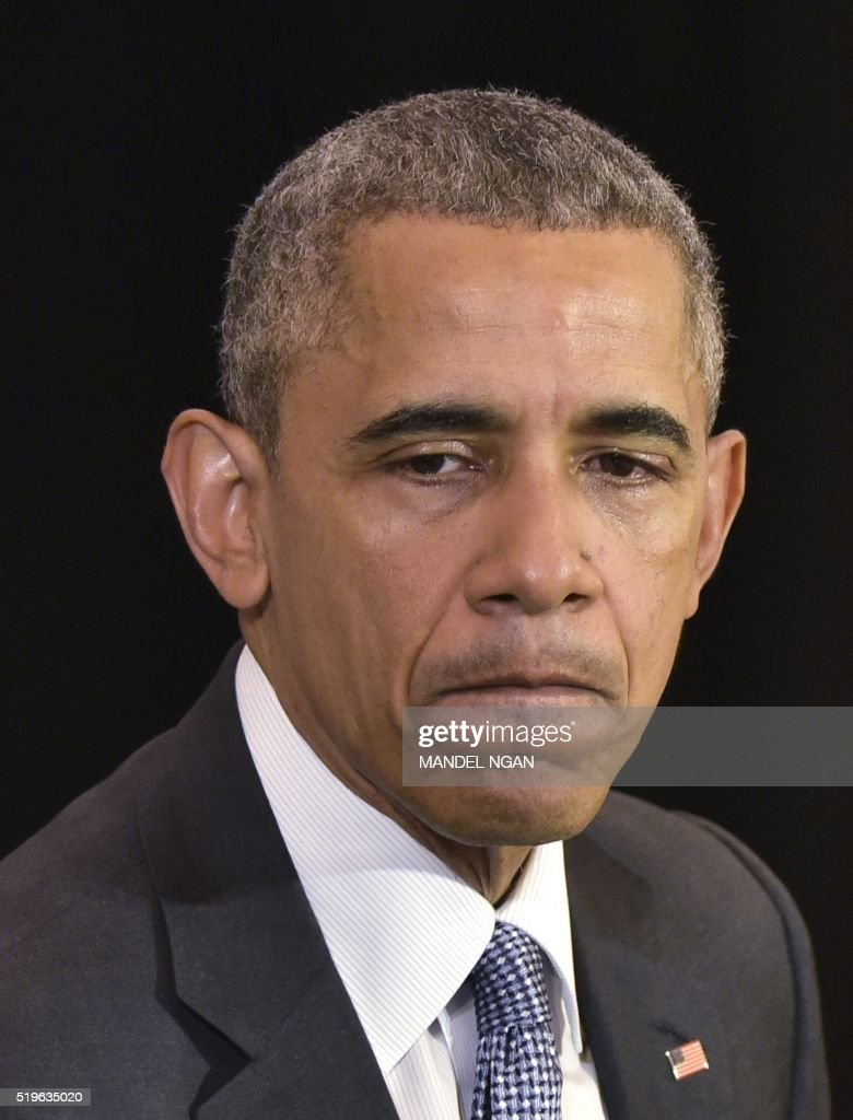 US-POLITICS-OBAMA : News Photo