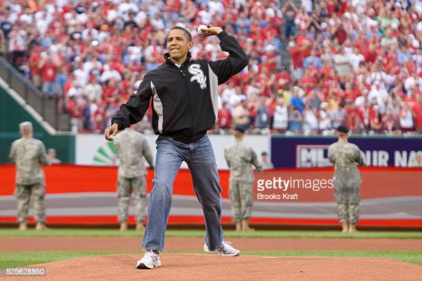President Barack Obama Throws ...