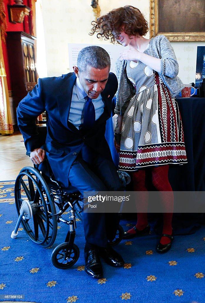President Hosts White House Science Fair : News Photo