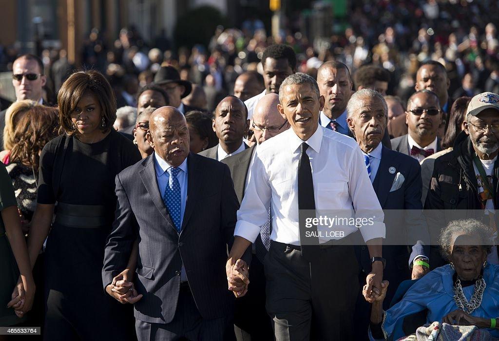 US-HISTORY-POLITICS-RIGHTS-RACISM : News Photo