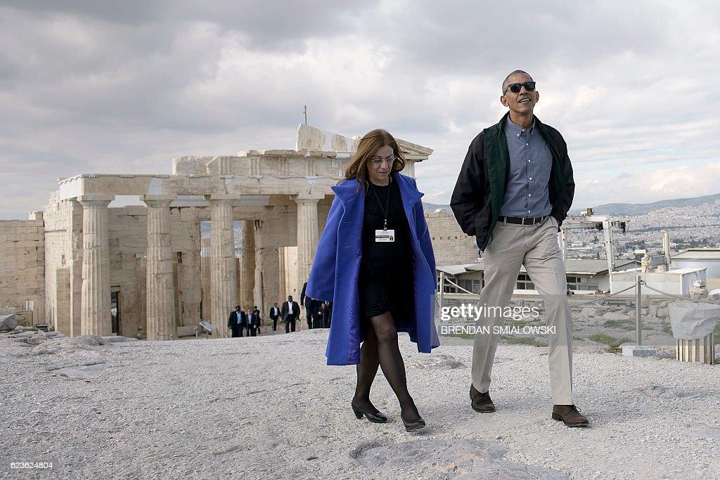 GREECE-US-POLITICS-DIPLOMACY : News Photo