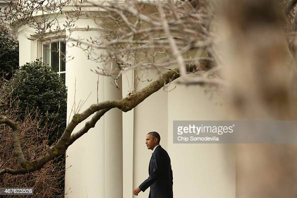 U s president barack obama walks out of the oval office - When is obama out of office ...