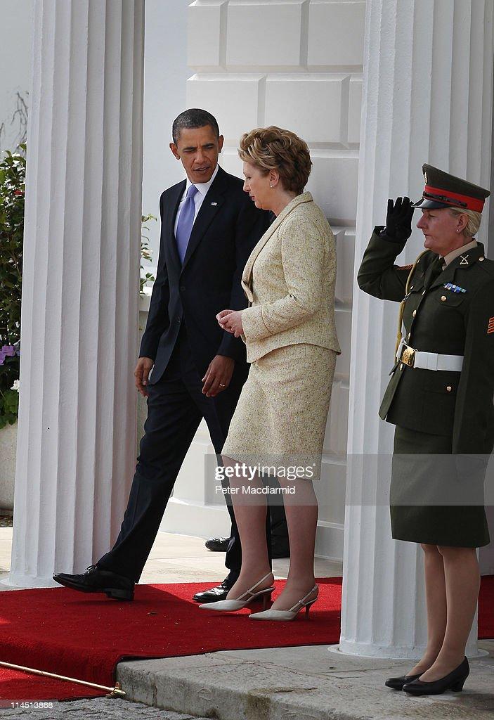 US President Barack Obama Visits Ireland