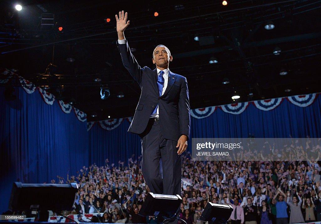US-VOTE-2012-ELECTION-OBAMA : News Photo