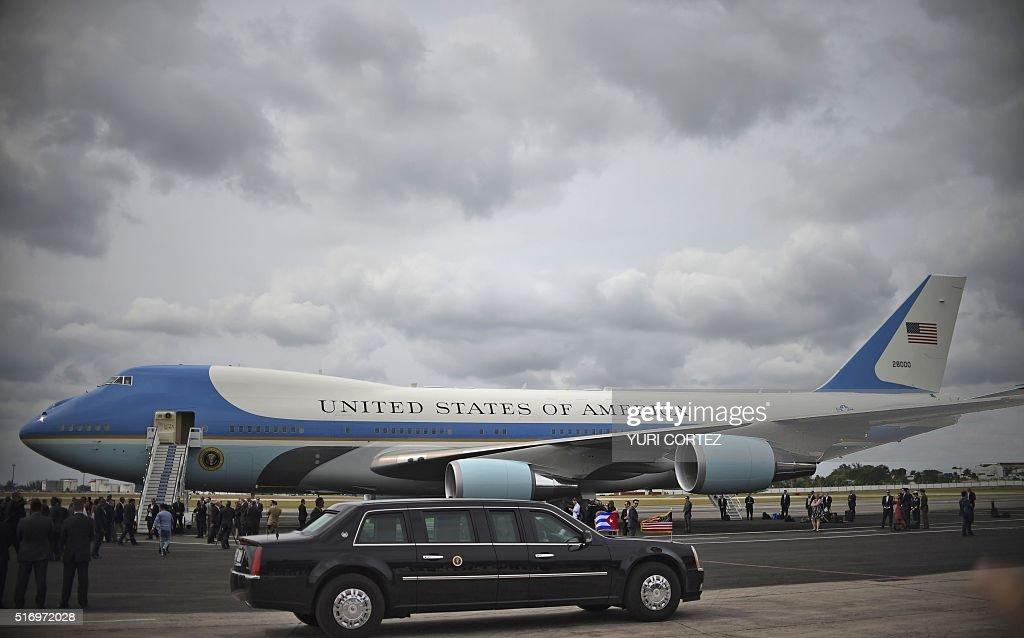 CUBA-US-OBAMA : News Photo