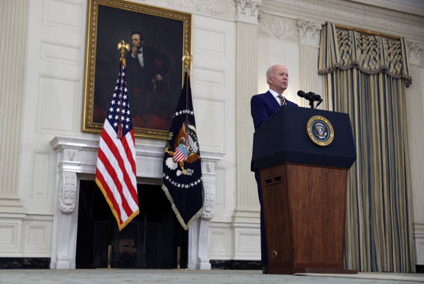 DC: President Biden Delivers Remarks On Covid-19 Response And Vaccination