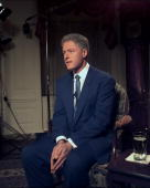 President bill clinton addresses the nation from the white house he picture id97346417?s=170x170