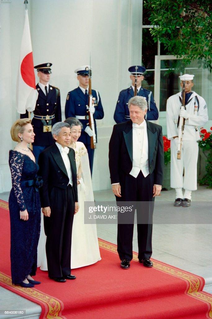 USA-EMPEROR-CLINTON : ニュース写真