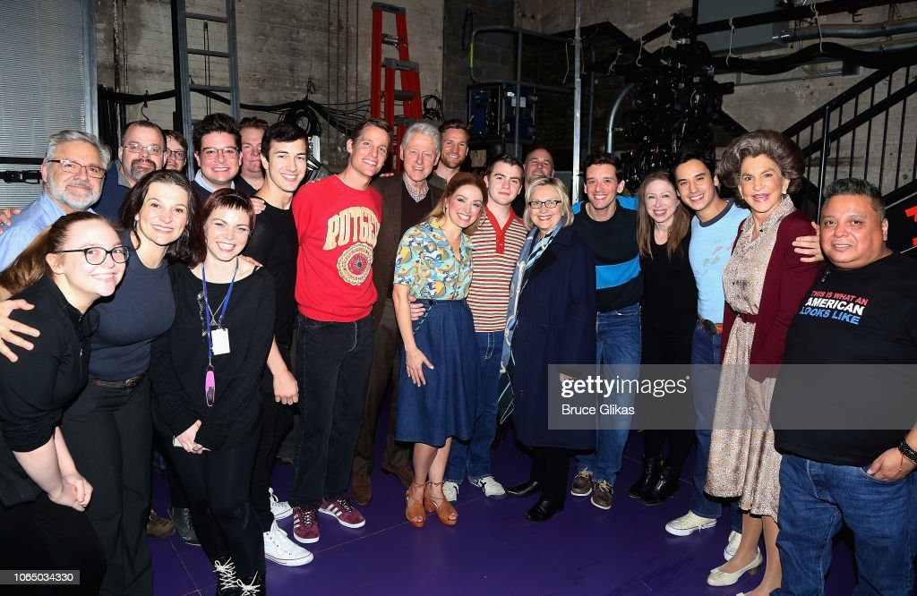 Celebrities Visit Broadway - November 24, 2018 : News Photo
