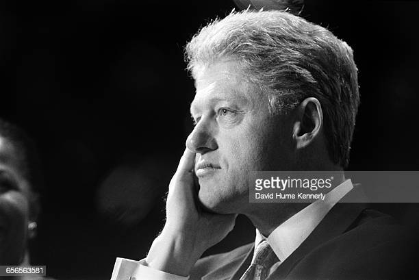 S President Bill Clinton on the campaign trail during his reelection bid in 1996