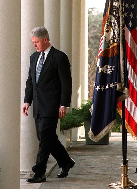 UNS: In The News - The Clinton-Lewinsky Scandal
