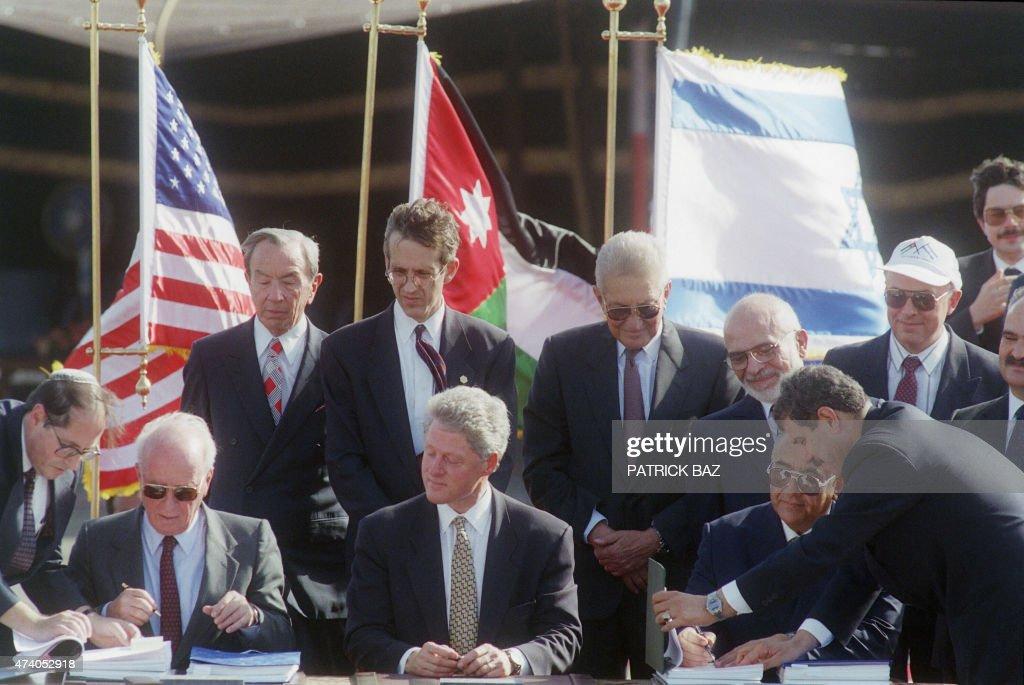 ISRAEL-JORDAN-US : News Photo